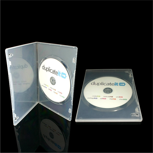 Slimline DVD Case – Single