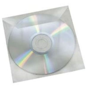 CD-DVD Clear PVC Sleeve