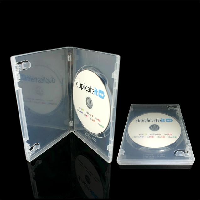 DVD Case Single Clear