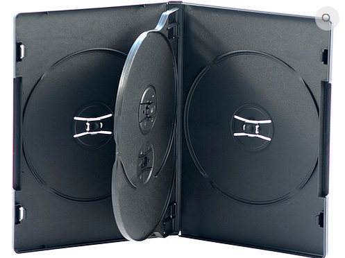Quad DVD Case – 14mm