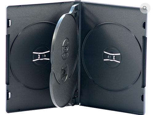 Quad DVD Case – 14mm